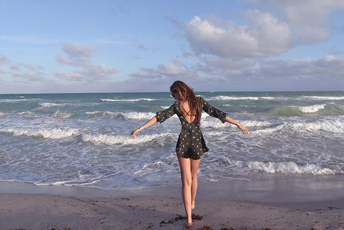 billabong romper south beach girl
