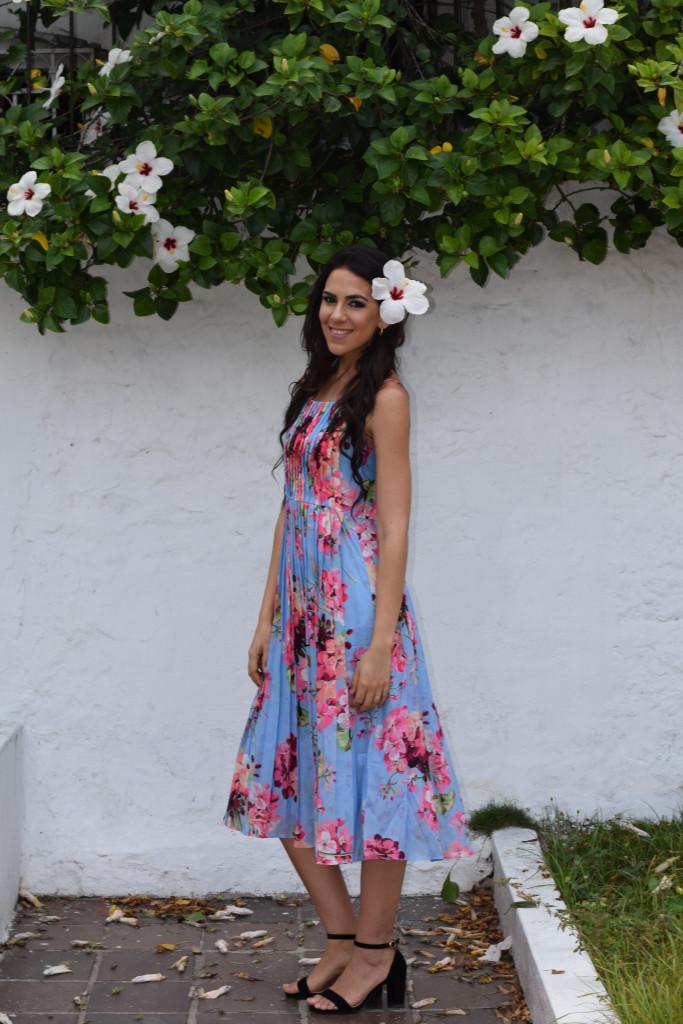 flower floral dress