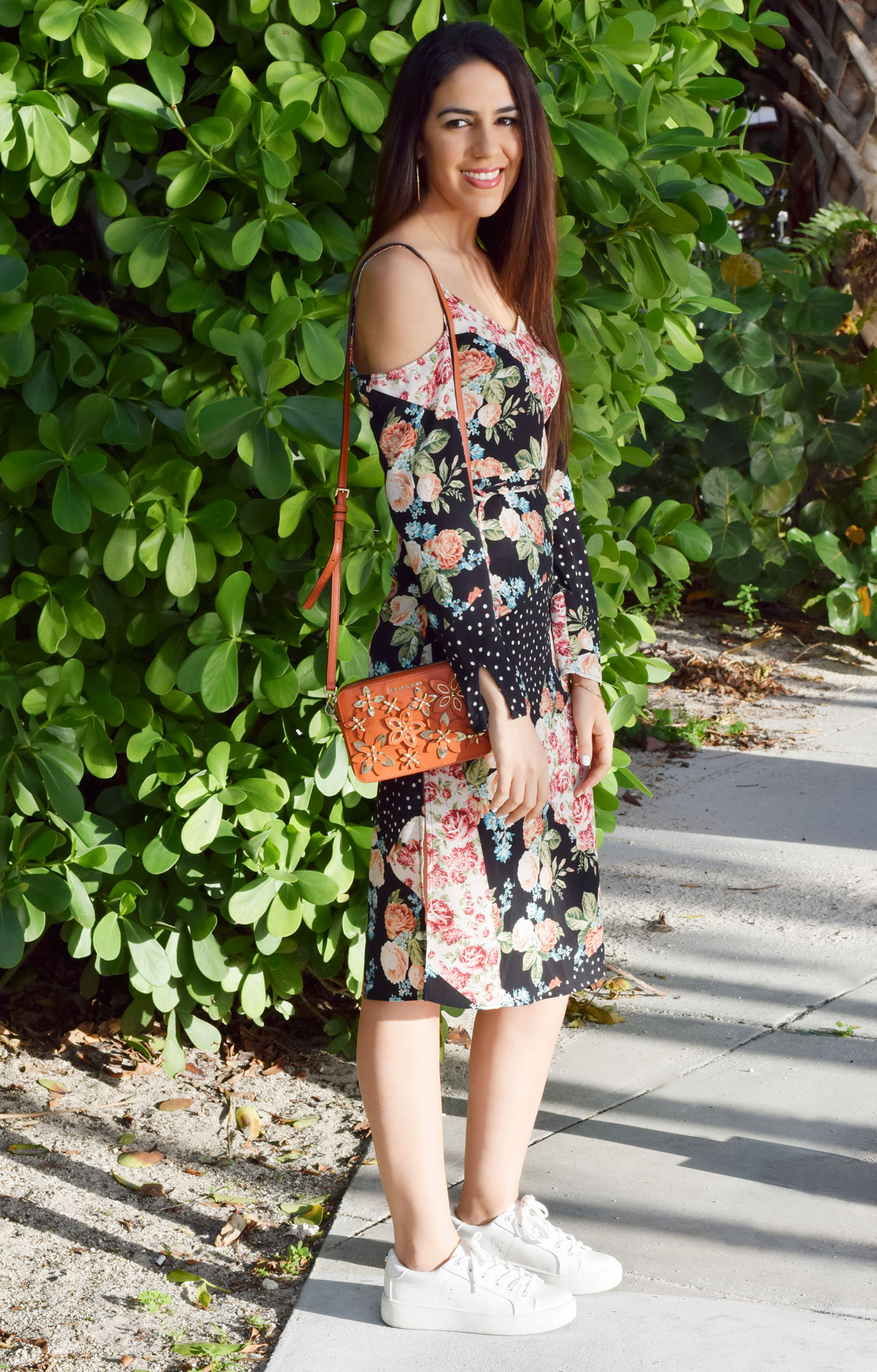 miami beach floral dress