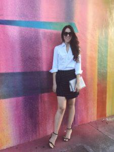 shopmaude stripe skirt labor day weekend hadasahlove