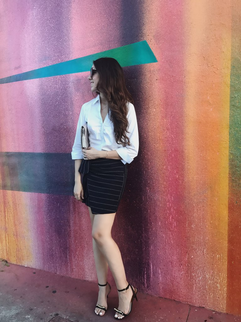 shopmaude stripe skirt labor day weekend hadasahlove