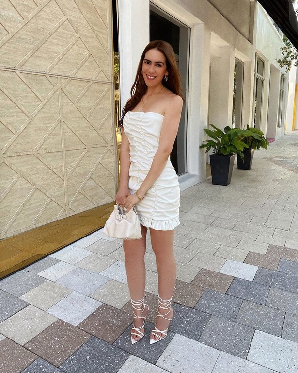 femmeluxe femme luxe white dress hadasahlove miami blogger
